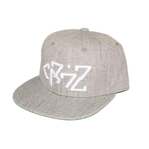 Cr7z - Snapback (Grau)