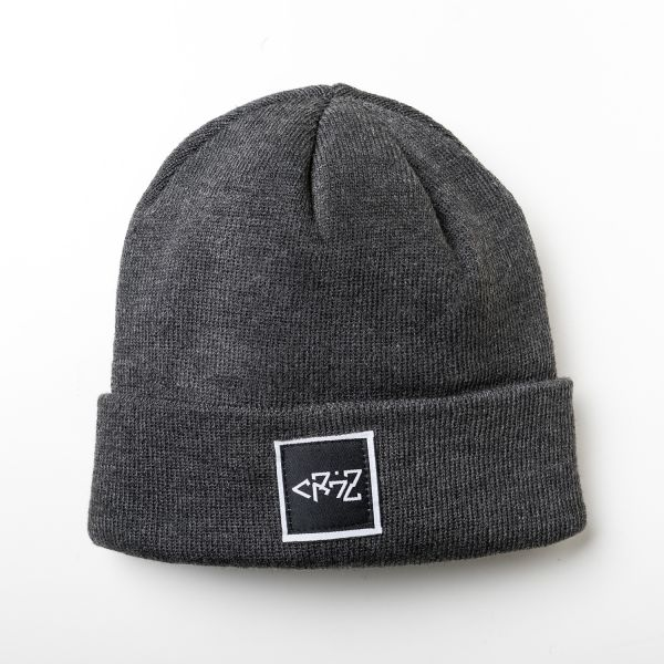Cr7z Patch Beanie (Charcoal)