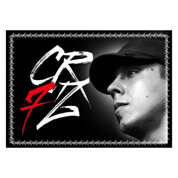 Cr7z - Flagge (Din A2)