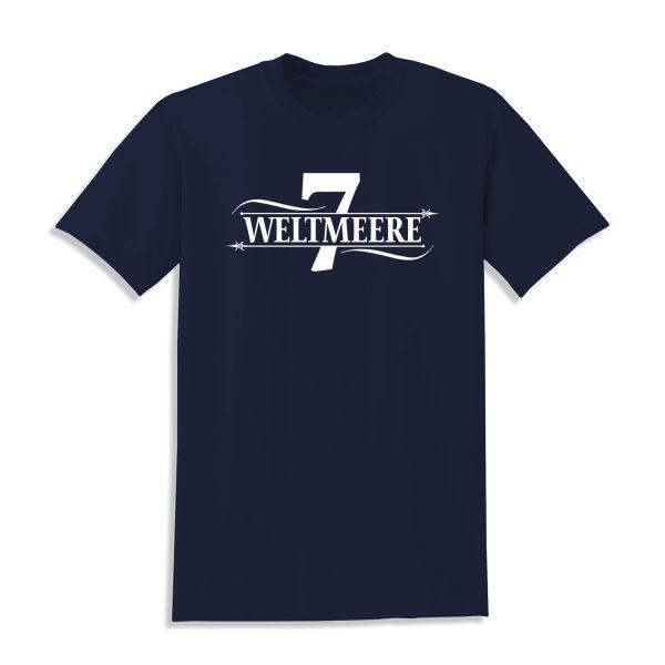 CR7Z - Sieben Weltmeere Shirt (Navy Blau)